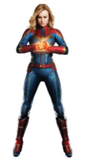 Captain Marvel Captain Marvel Bruce Banner Hulk Steve Rogers Captain America