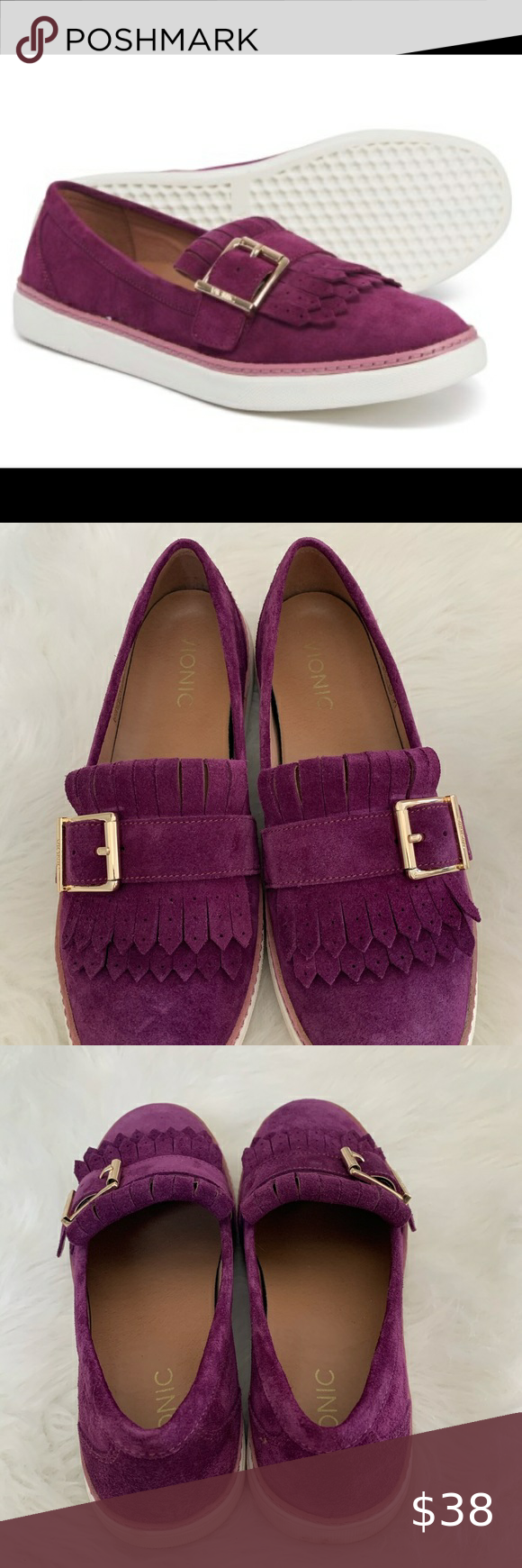 Vionic Cambridge Slip on Leather Loafer