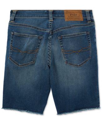 964b8f79a7 Polo Ralph Lauren Stretch Cutoff Shorts, Big Boys - Geary Wash 12 ...
