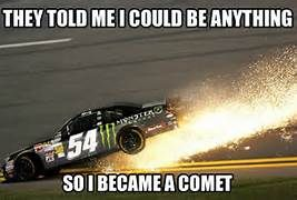 Funny But Since When Did Kyle Busch Motorsports Switch To Chevy Nascar Memes Kyle Busch Motorsports Kyle Busch
