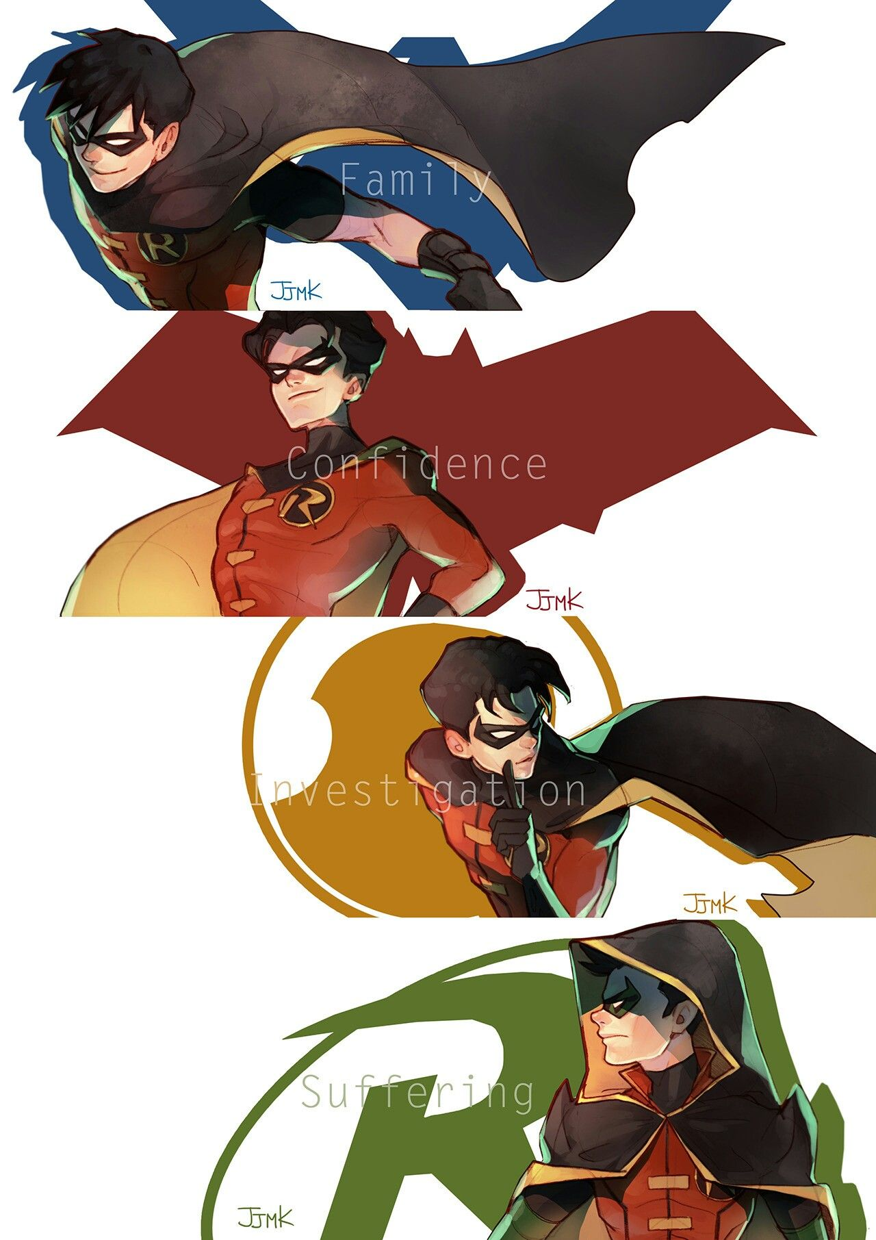 Nightwing, Richard Dick Grayson, The First Robin | Red Hood