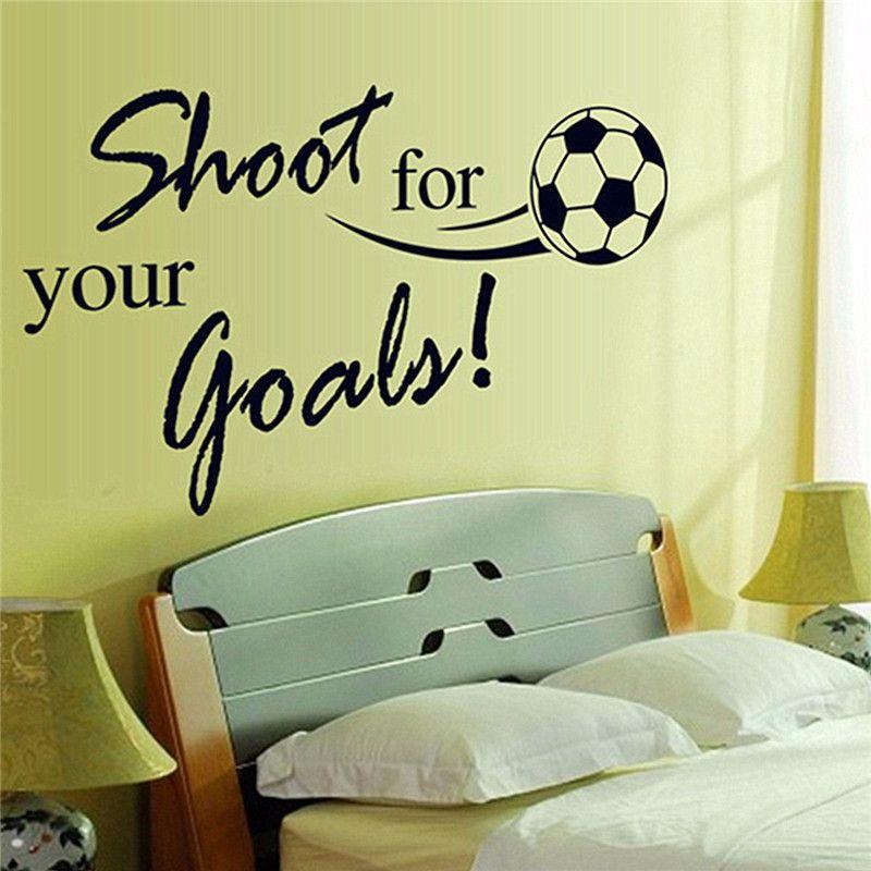 Online Get Cheap Soccer Wall Decals -Aliexpress.com   Alibaba Group ...