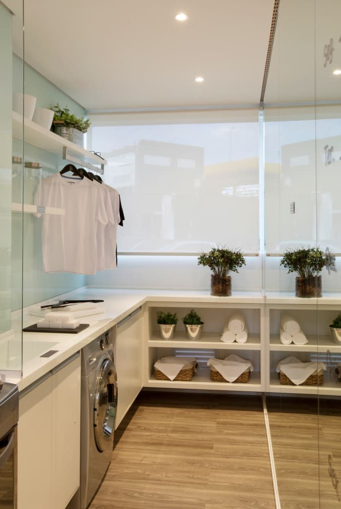 modern kitchen by homify modern in 2020 laundry room design home remodeling laundry design on kitchen organization small apartment id=51766