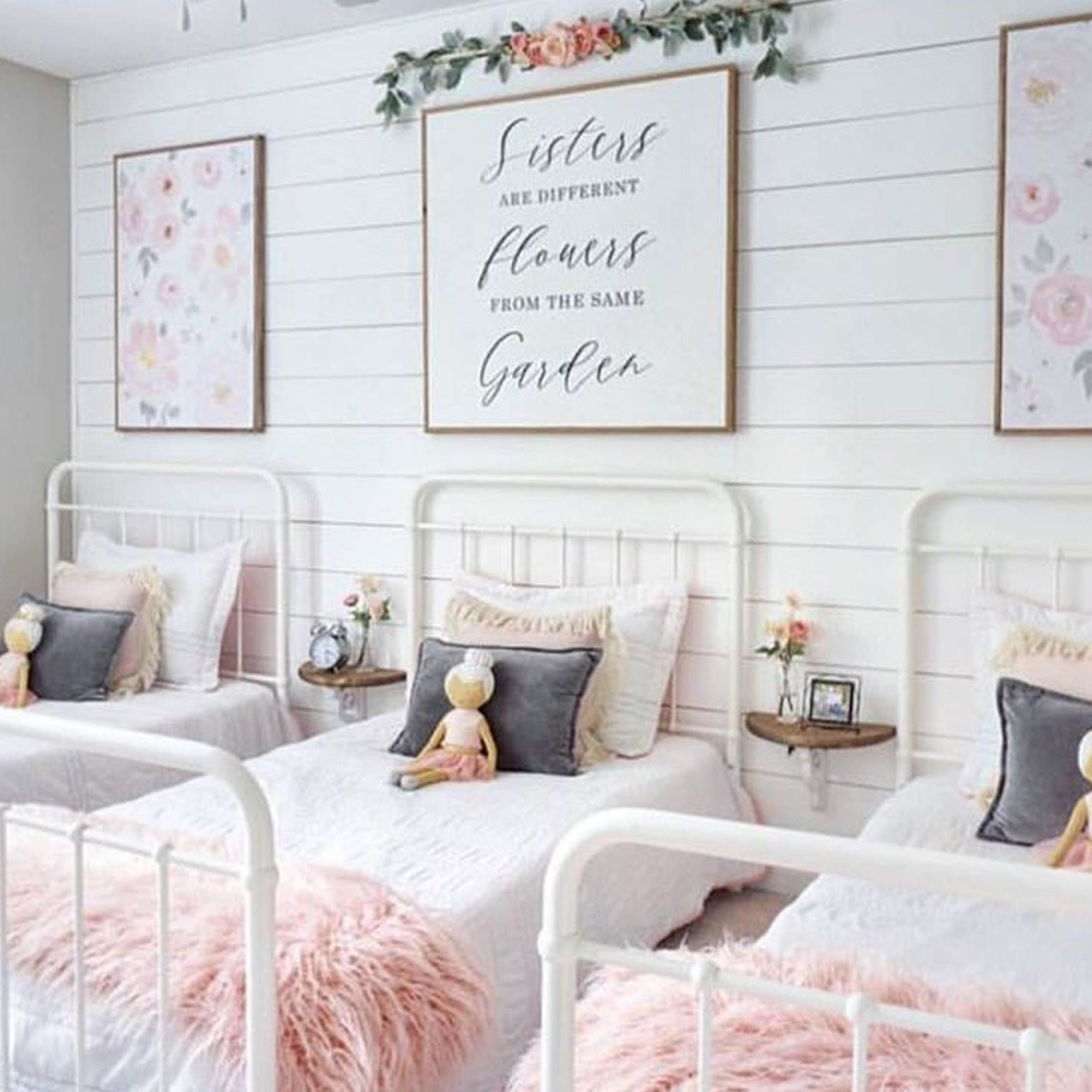 Monday Makeover Shared Little Girls Room Shared Girls Bedroom
