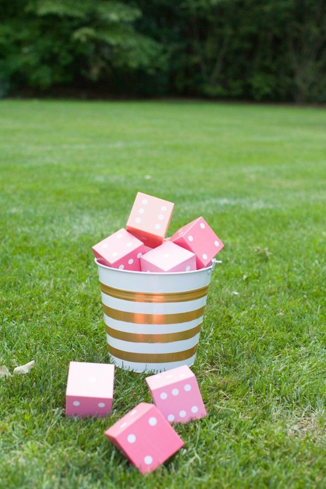 Get Out Play With These Fun Bachelorette Yard Yahtzee Game Outdoor Party GamesBackyard