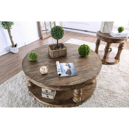 Home In 2019 Round Coffee Table Oak Coffee Table Round