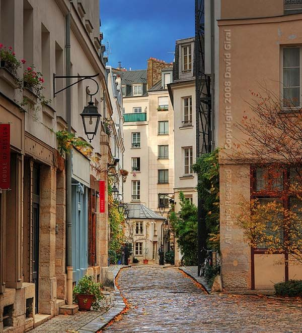 Cobblestone Park Apartments: Paris Street Cobblestone