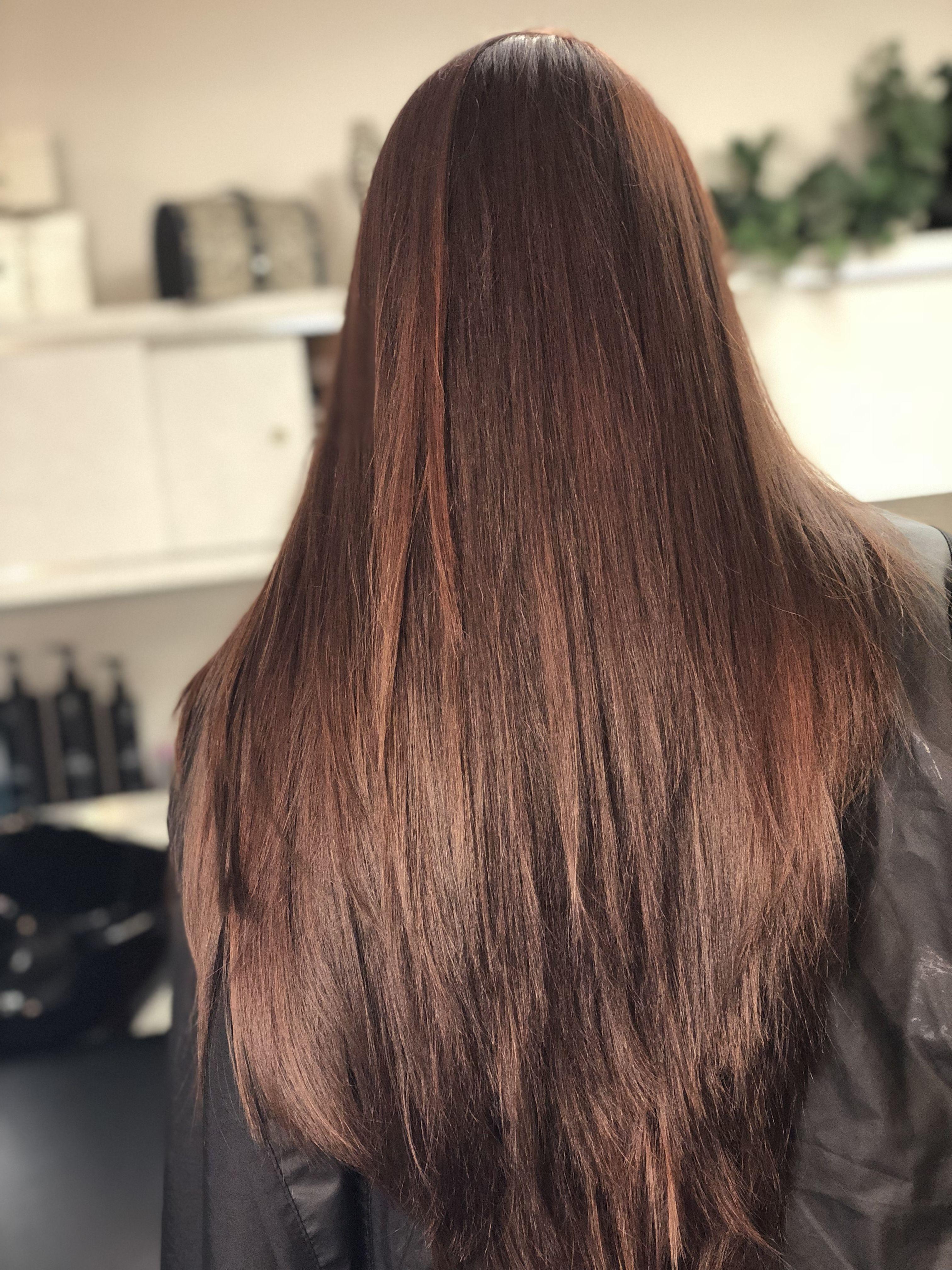 All Nutrient Hair Color Virgin Hair 7rc Dot Of 6ic 20 Volume