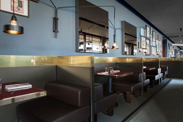 Ceresio/7 in Milan, Italy designed by Dimore Studio   Dining ...