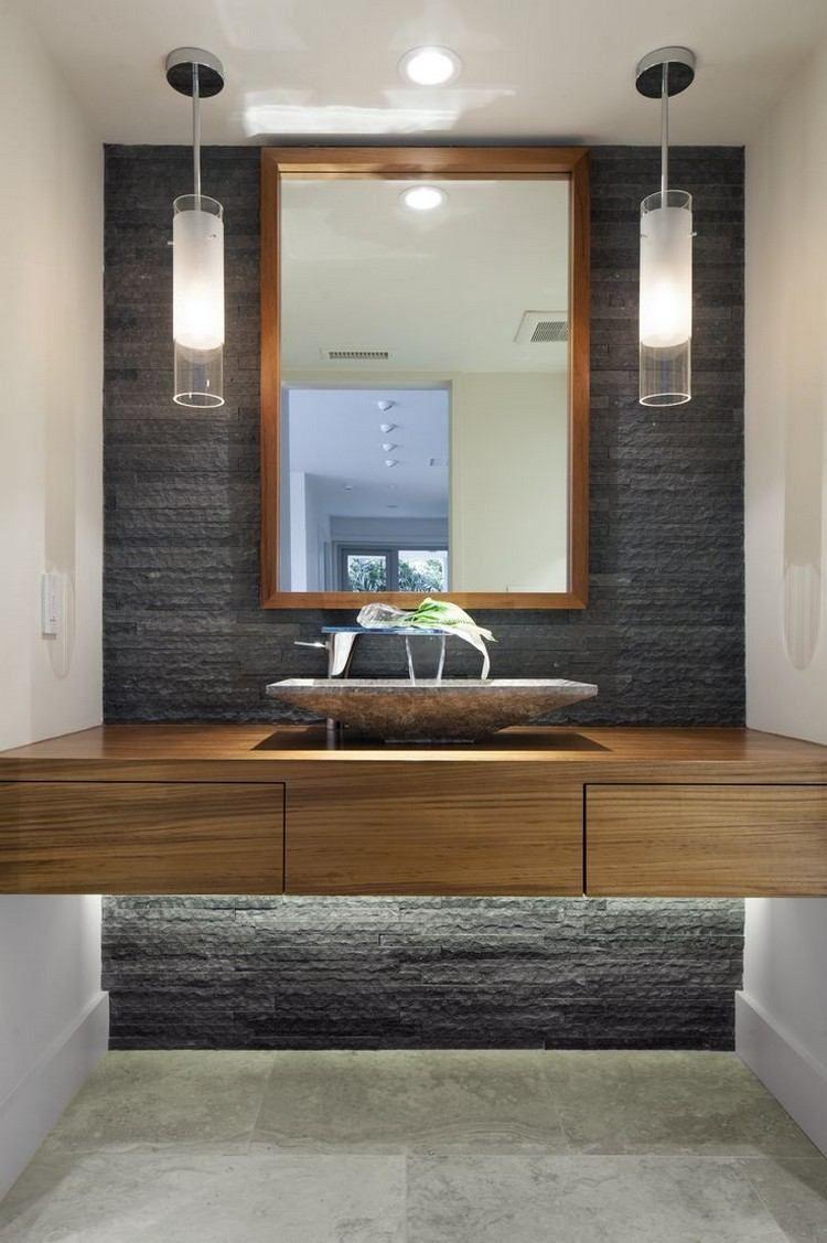 Luminaire Salle De Bains Et Aménagement En Idées Cool - Suspension salle de bain design