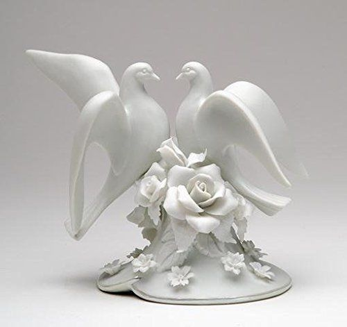 Make A Wish Glossy White 7 x 5 Ceramic Stoneware Decorating Cake Topper