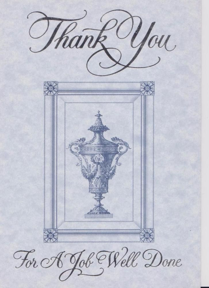 Christian Greeting Card, Thank You For A Job Well Done Christian - job well done