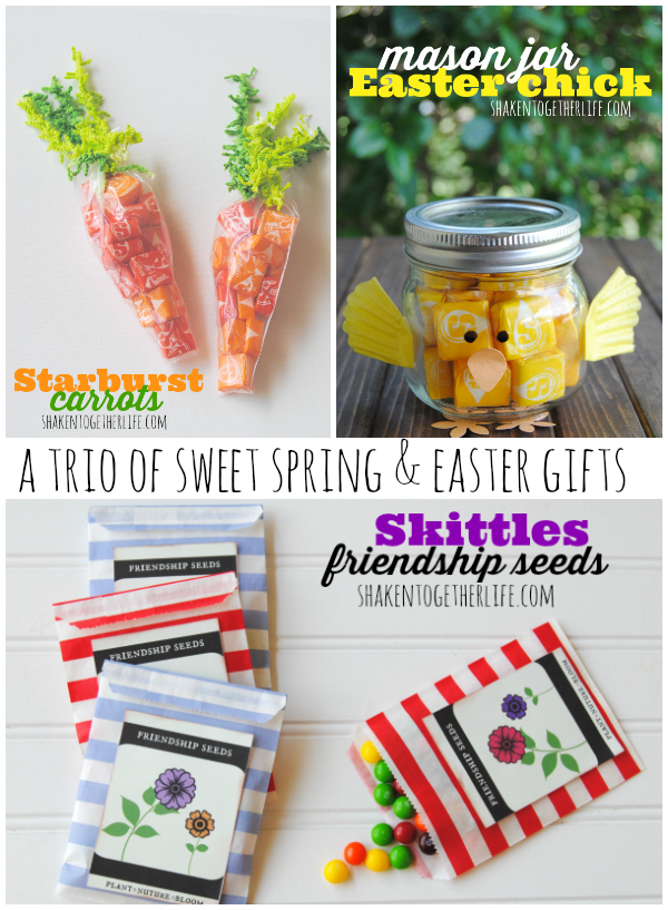 Three easy spring and easter gifts candy carrots mason jar three easy spring and easter gifts candy carrots mason jar easter chick and friendship negle Images