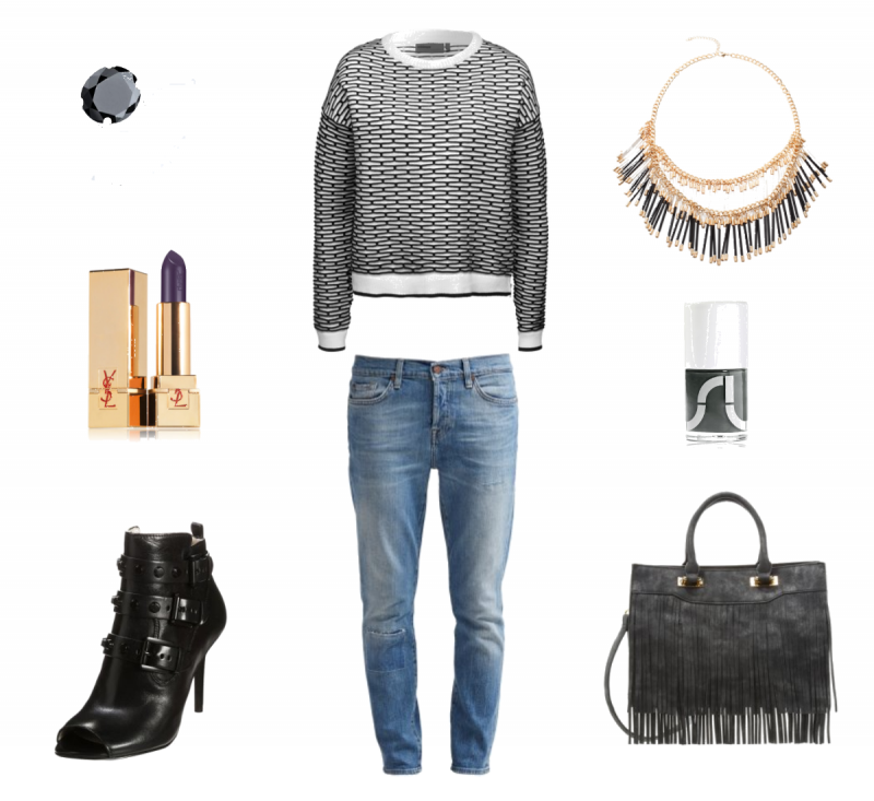 #outfit Fransen als Hingucker ♥ #outfit #outfit #outfitdestages #dresslove