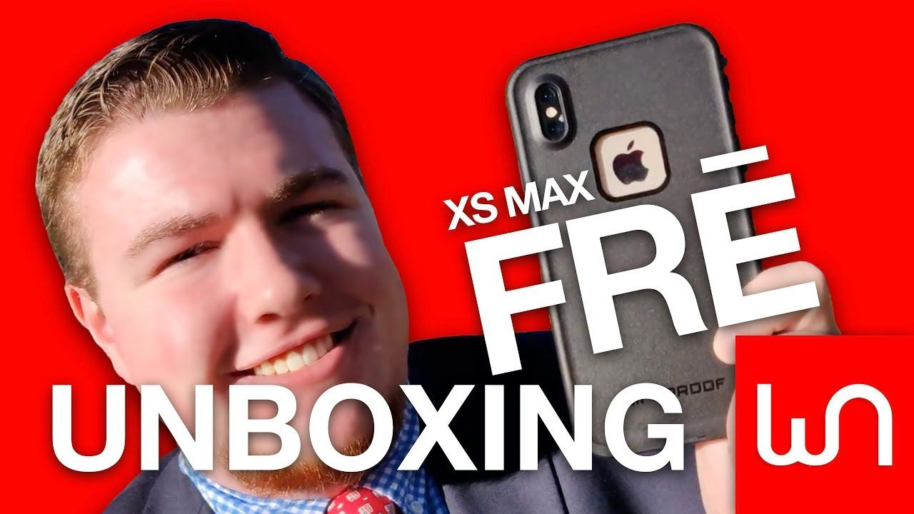 Lifeproof fre for iphone xs max unboxing youtube