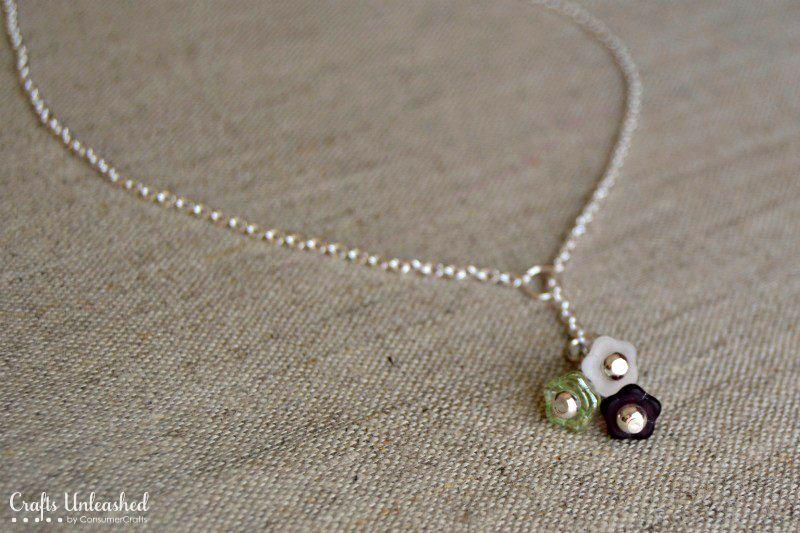 Diy Lariat Necklace Tutorial Crafts