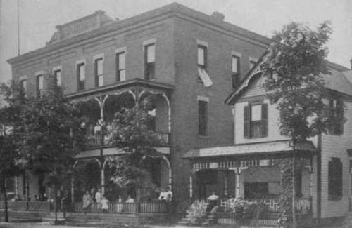 Kepler Hotel Meadville Pa 1913
