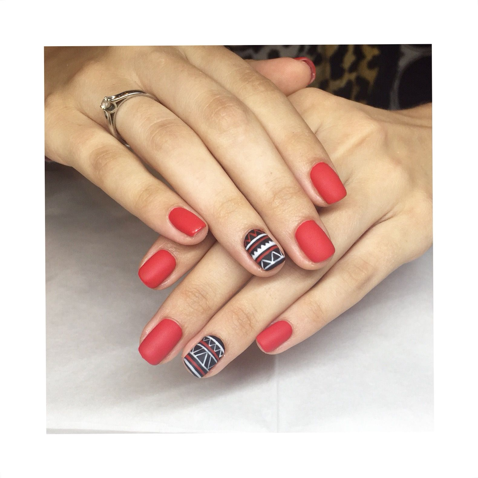 A Love Story: A Skittle Nail Art Design