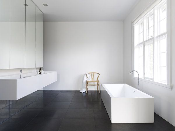 Minimalist Bathroom | Australian Interior Design Awards - emmas designblogg