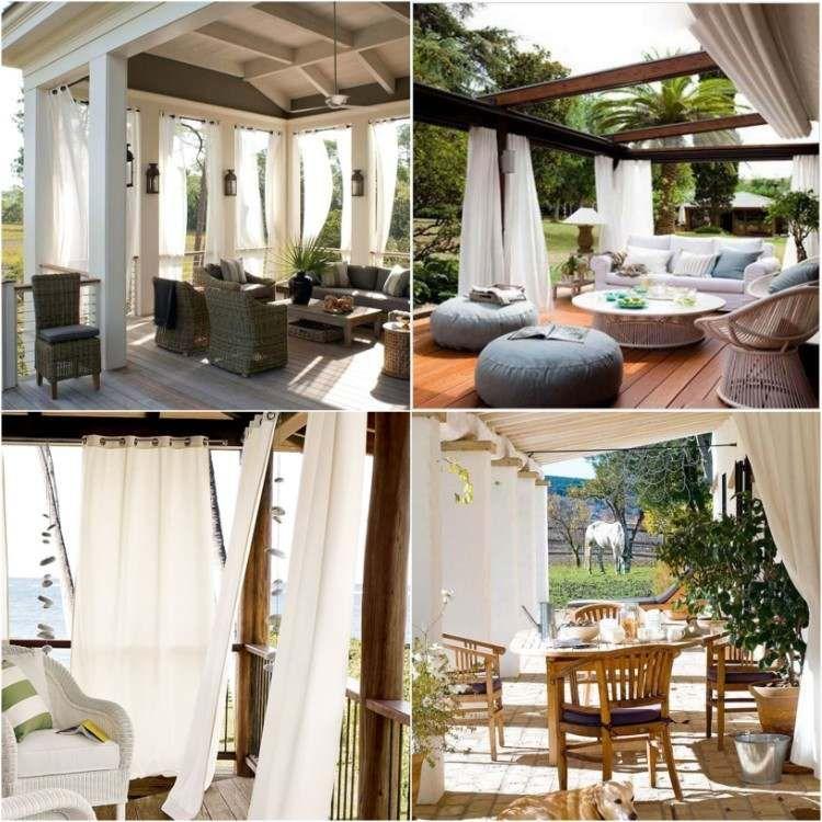 Decouvrez Nos Conseils Et Idees En Images Pour Choisir Le Bon Rideau Veranda Maison 2018 Rideau Veranda Design Exterieur Veranda