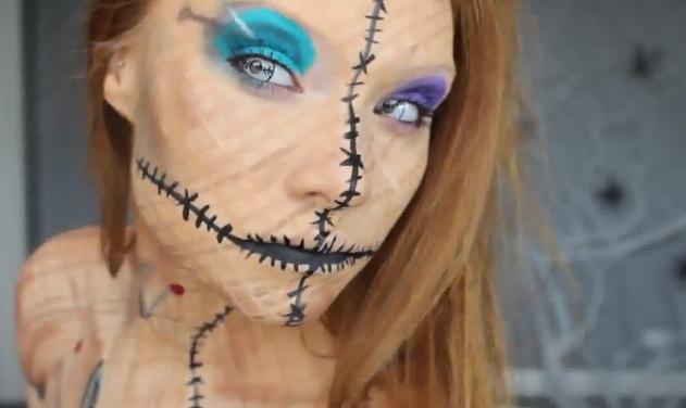 Halloween 2013: ecco un'idea originale per travestirsi da bambola voodoo! Segui il tutorial -> http://www.videopazzeschi.com/halloween-2013-idee-il-video-tutorial-diventare-terrificante-bambola-voodoo/