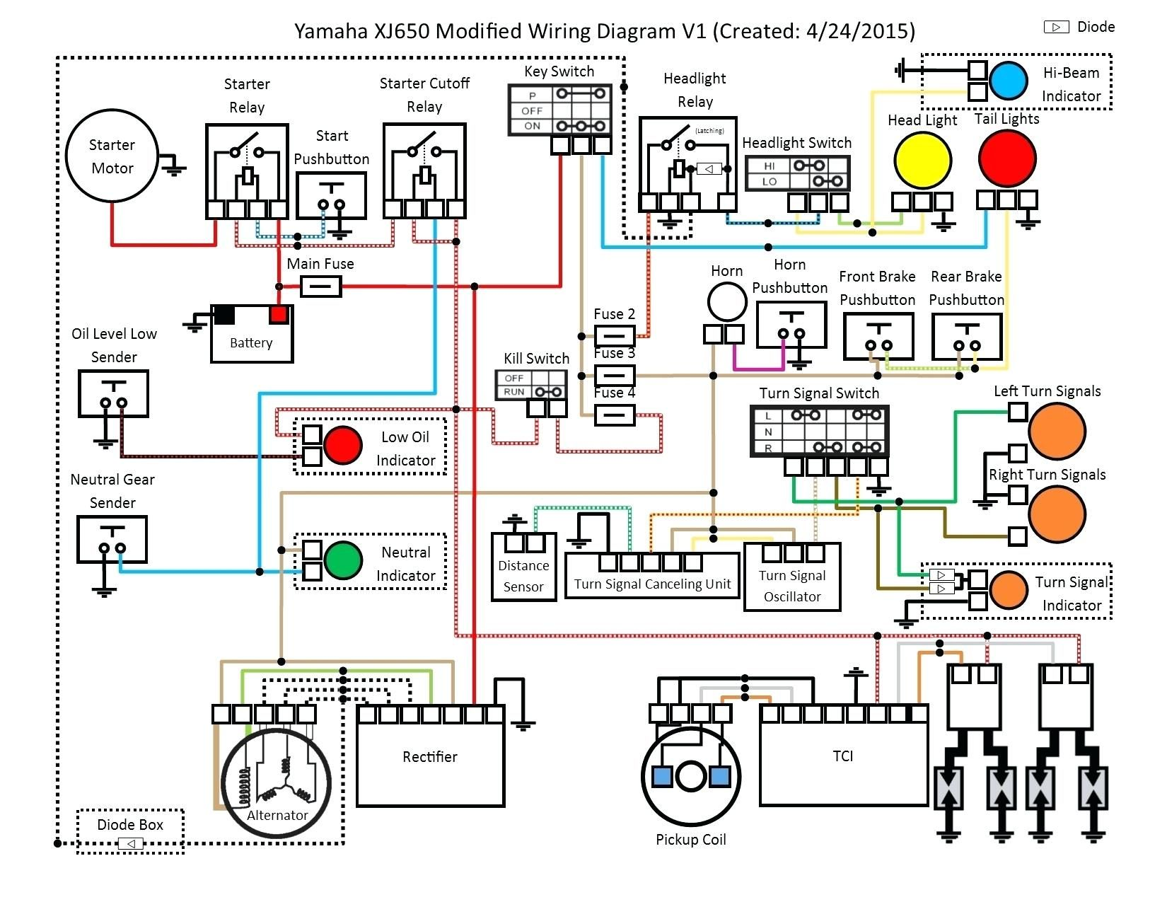 Wiring Diagram Of Motorcycle Honda - Wiring Diagram Categories on