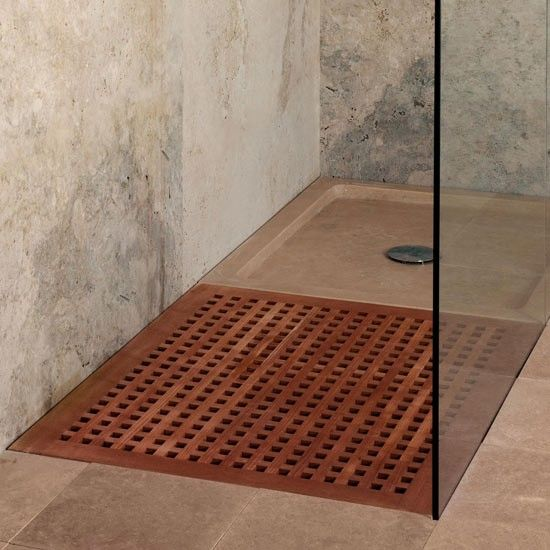 Teak Shower Tray From CP Hart | Modern Shower Trays   Our Pick Of The Best  | Bathroom Accessories | Livingetc | PHOTO GALLERY