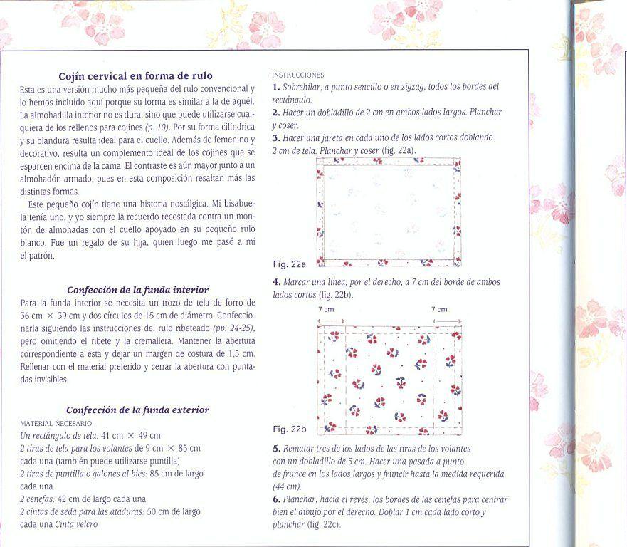 TUTORIAL COMO HACER DISTINTOS MODELOS DE COJINES | Pinterest | Es ...
