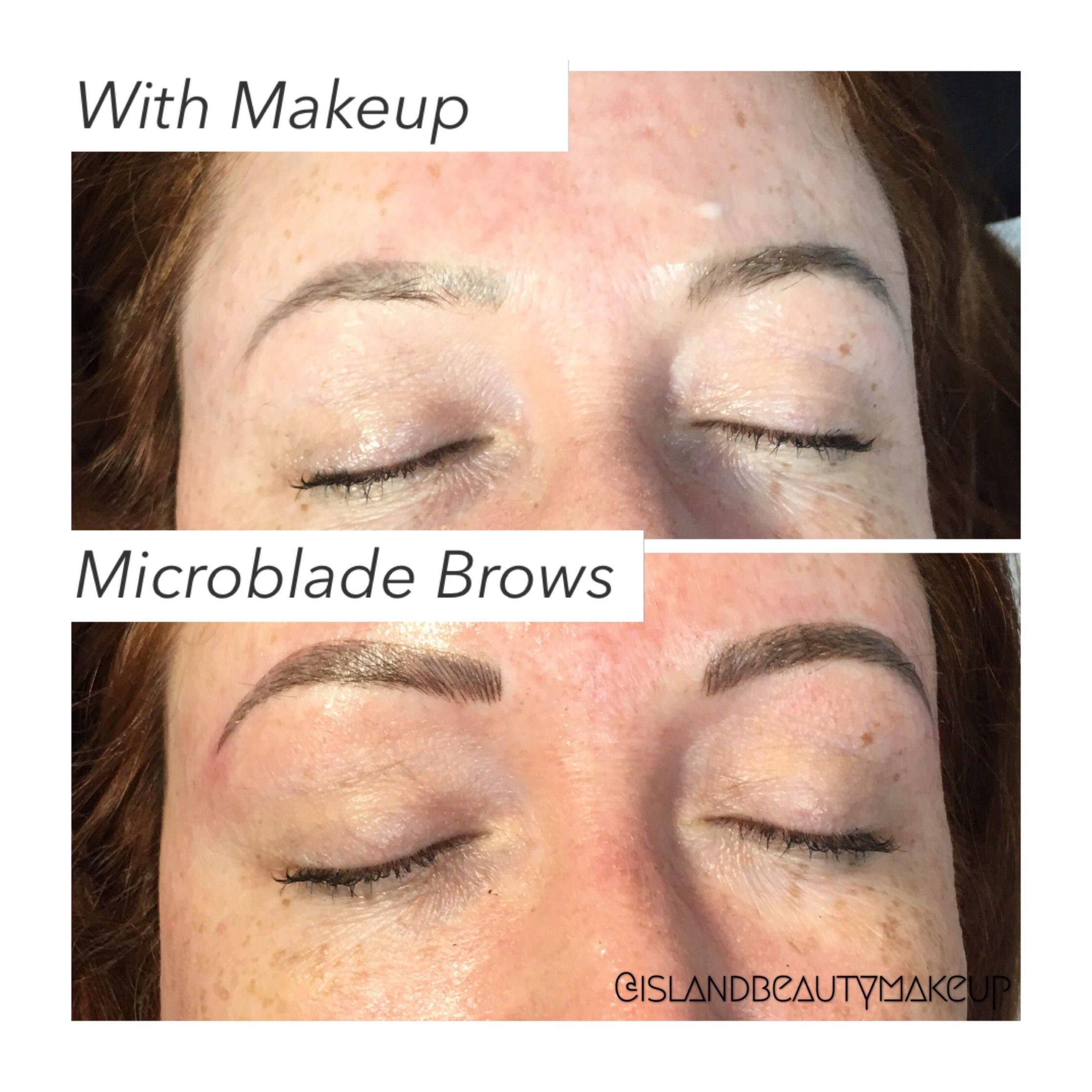 Microblading eyebrows browshaping microblading