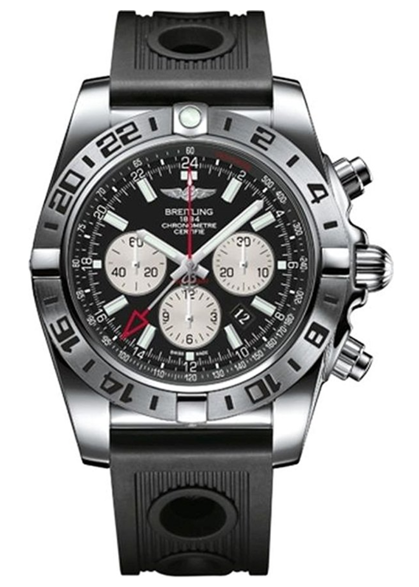 Breitling Men S Automatic Watch Chronomat Ab0413b9 Bd17 201s With