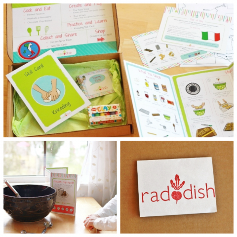 Raddish Cooking Kits for Kids