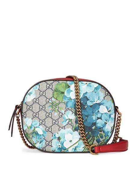 364db6dad8e GUCCI Gg Blooms Mini Chain Bag