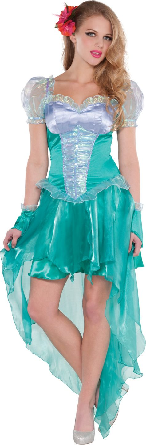 lovely Princess Ariel Costume For Adults Part - 12: Adult Little Mermaid Ariel Costume - Party City Ariel Costumes, Disney  Princess Costumes, Cute