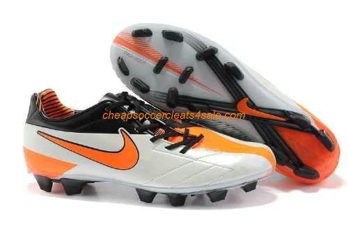 Nike Total 90 Laser IV Wayne Rooney Wesley Sneijder Fernando Torres Soccer  Cleats white orange