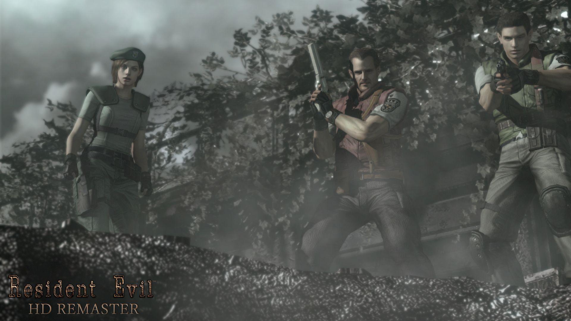Resident Evil Hd Remaster Wallpapers 1920x1080 Identi Resident Evil Resident Evil Hd Remaster Gaming Wallpapers Hd