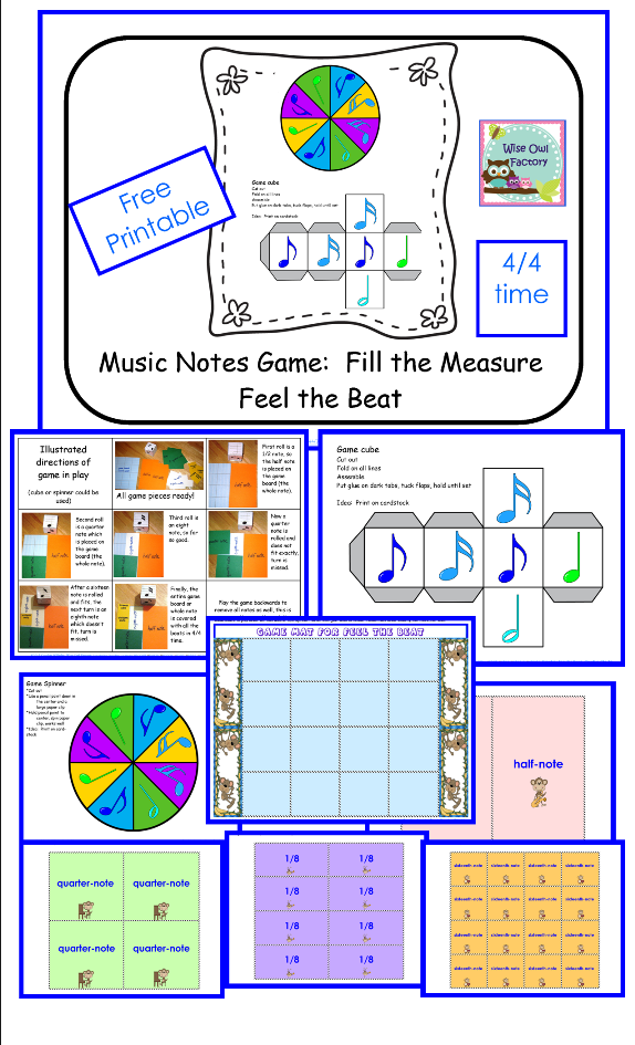 Free Music Beat Game Resources Music education