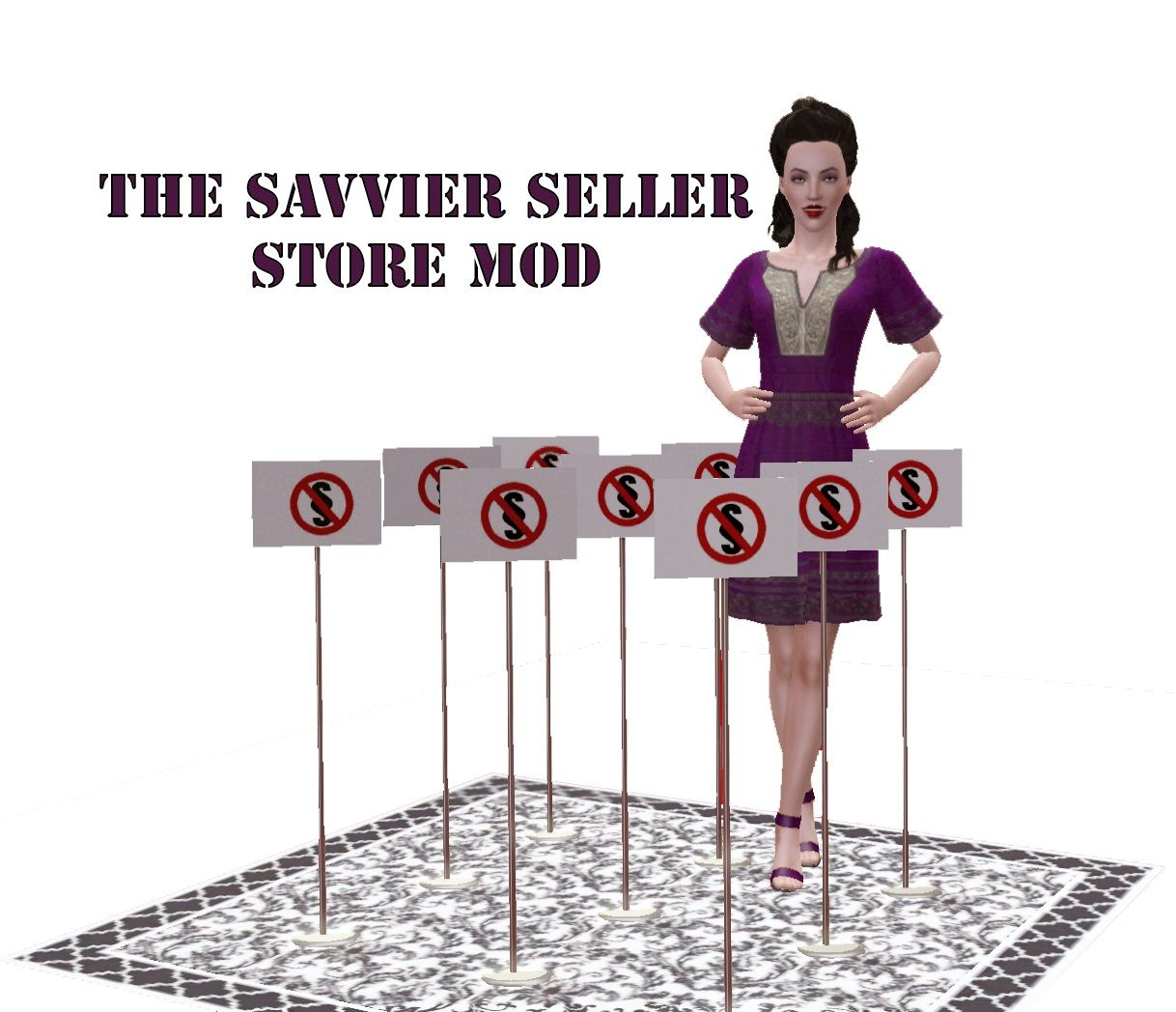 ani@MTS - The Savvier Seller Mod - Version 4 #Sims3