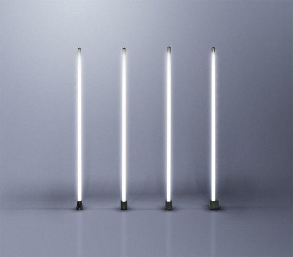 New Lighting And Decor From Castor Fluorescent Tube Light Unique Floor Lamps Tube Light