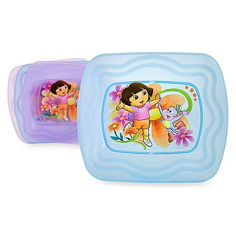 Zak Designs Dora the Explorer Dinner Plates (Set of 4)  sc 1 st  Pinterest & Zak Designs Dora the Explorer Dinner Plates (Set of 4) | Baby/Kids ...
