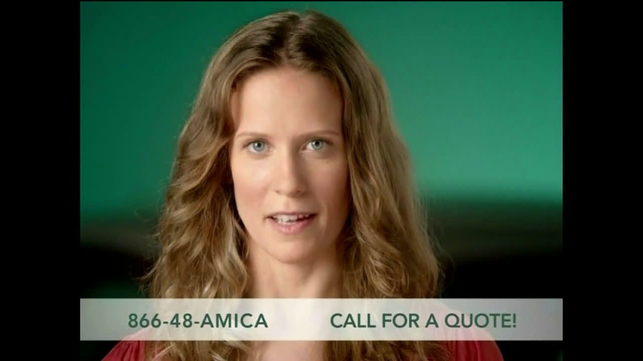 Amica Mutual Insurance Company Sister Recommenders Ad