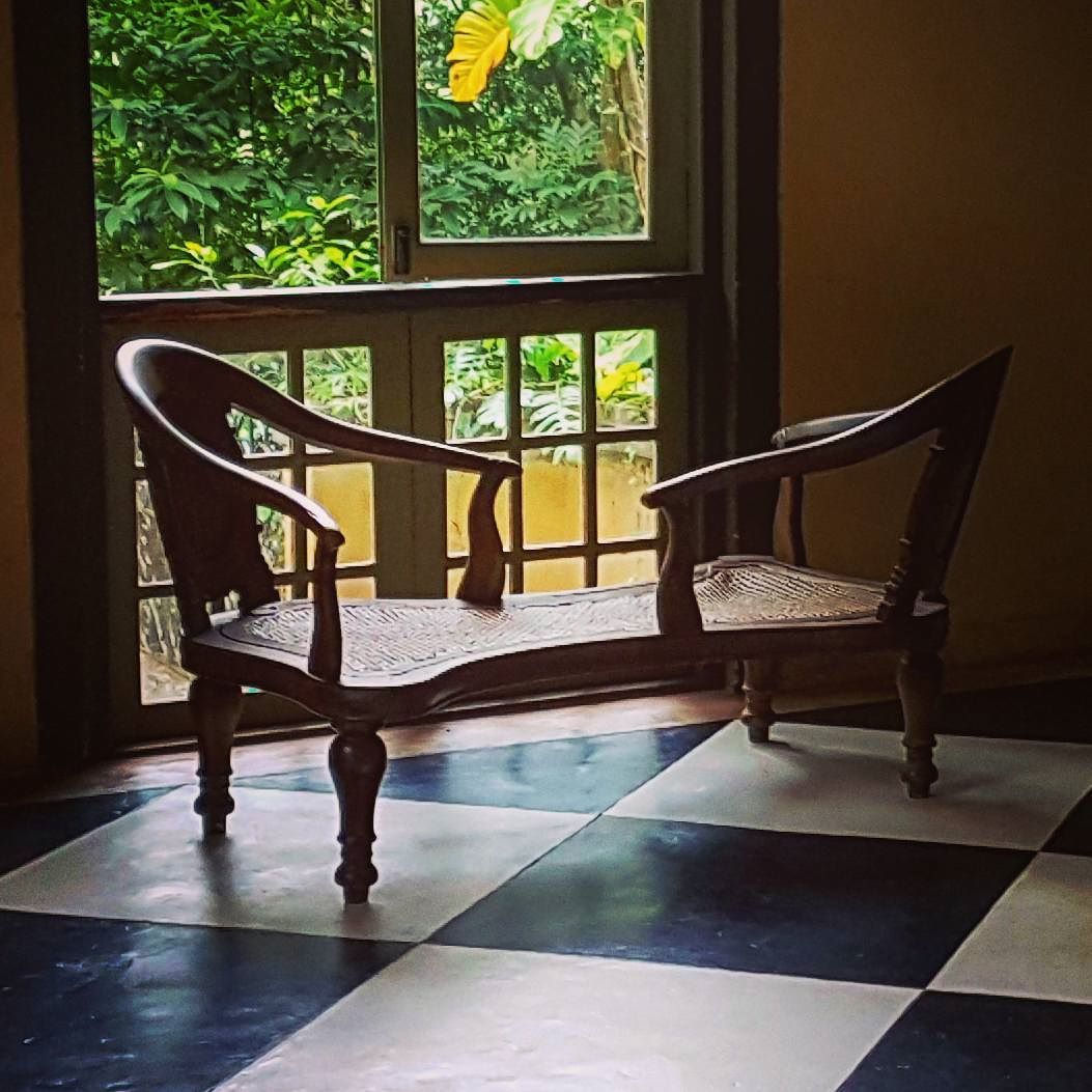 Lovers chair an amazing architecture by Geoffrey Bawa