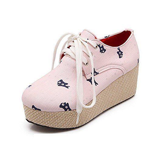 AllhqFashion Women's Round Closed Toe Lace Up Fabric Assorted Color Kitten Heels Pumps-Shoes AllhqFashion, http://www.amazon.com/dp/B01KPNCYZA/ref=cm_sw_r_pi_dp_x_N6BmzbDMYNX8Q