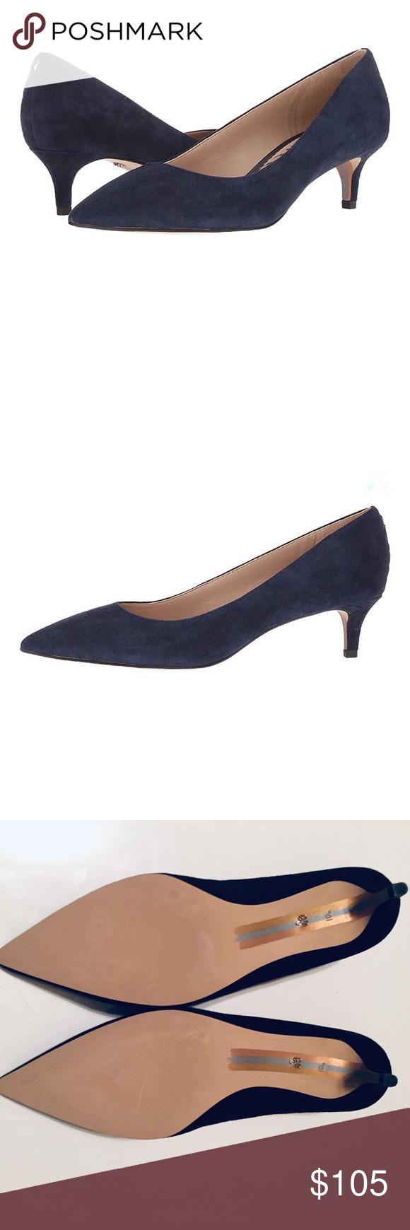 Sam Edelman Dori Suede Black Heels 10 5m Black Heels Shoes Women Heels Heels