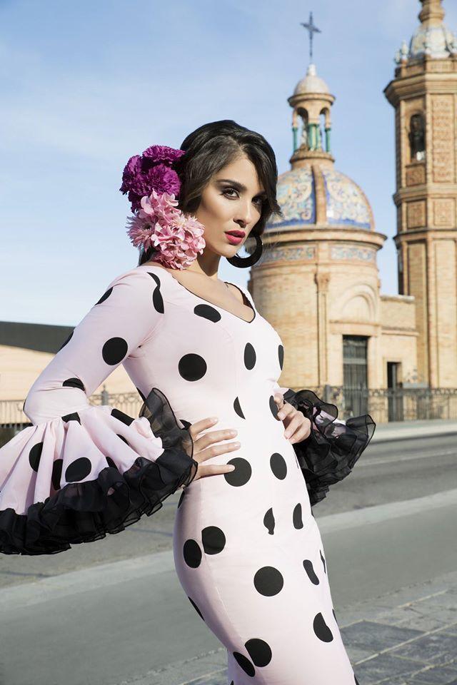 Modelo de la coleccion flamenca 2017 de TAMARA Flamenco ...