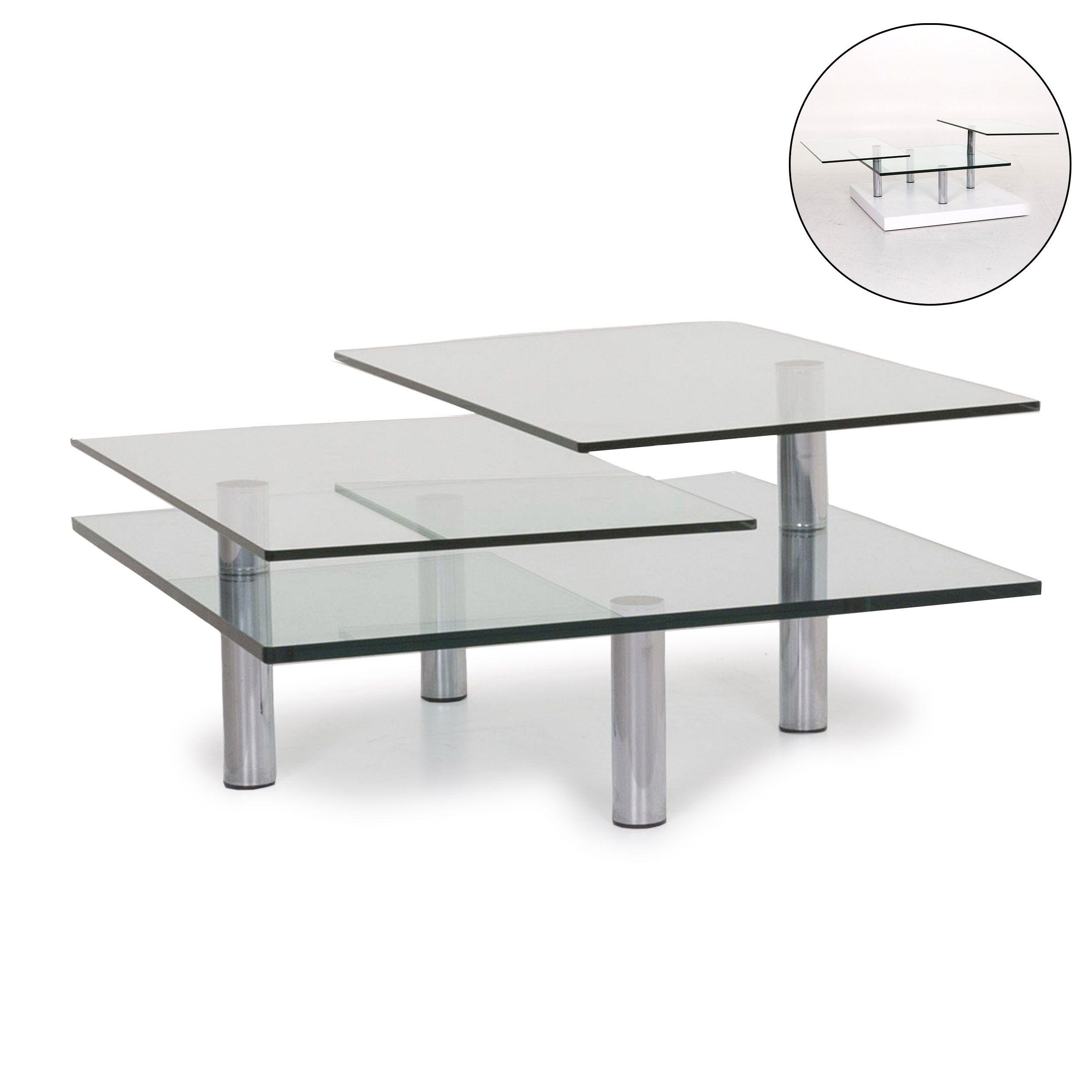 Draenert Imperial Glas Couchtisch Silber Tisch 12220 In 2020 Wohnzimmertische Couchtisch Glas Silberner Tisch