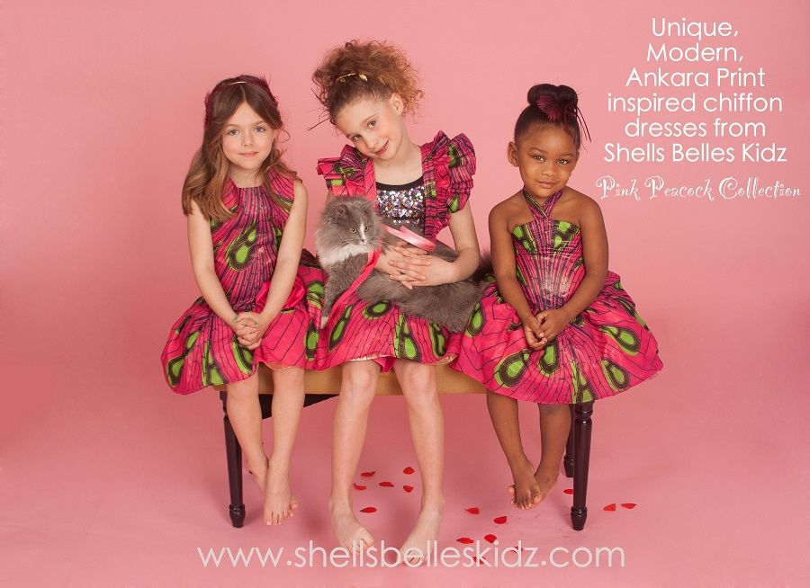 Shells Belles Kids 2015 Peacock collection