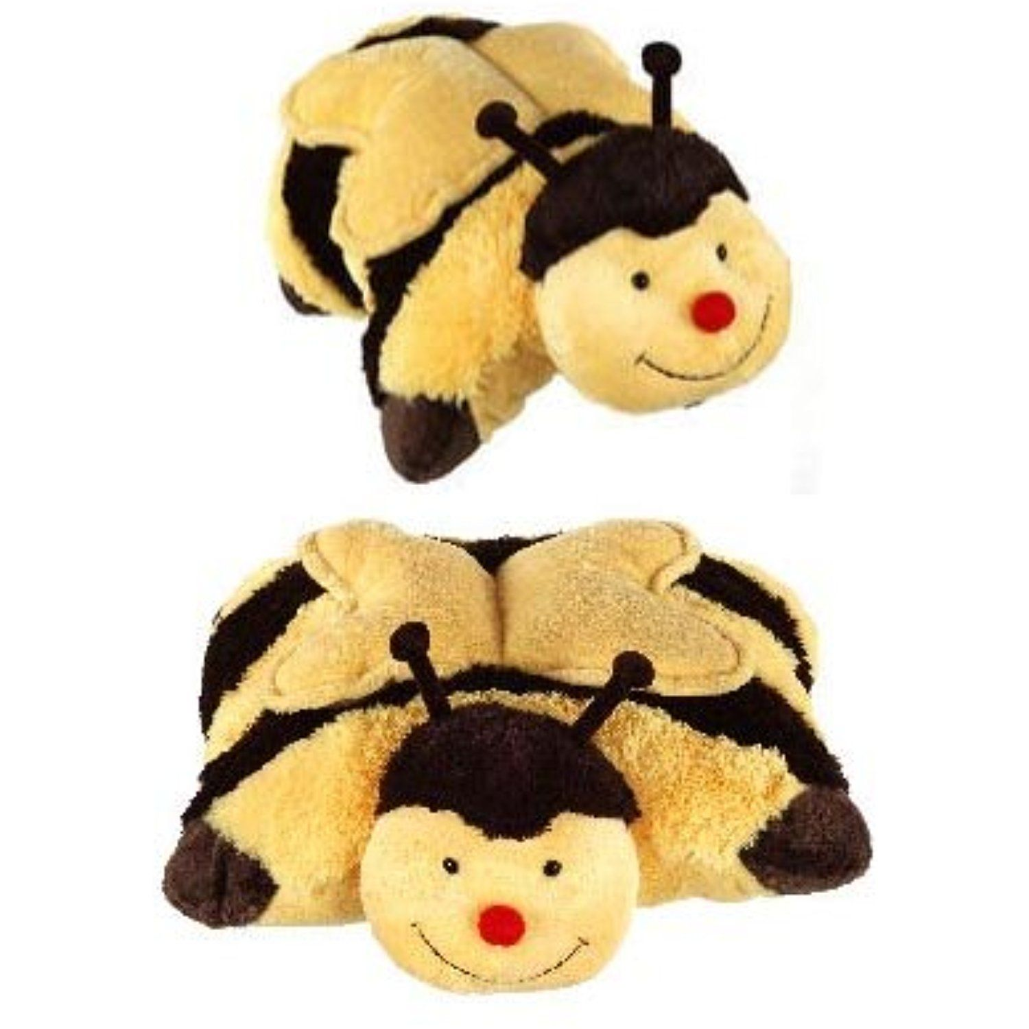 My Pillow Pets Large 18 Inch Square Buzzy Bumble Bee Plush Pillow Be Sure To Check Out This Awesome P Animal Pillows Plush Pillows Teddy Bear Stuffed Animal [ 1500 x 1500 Pixel ]