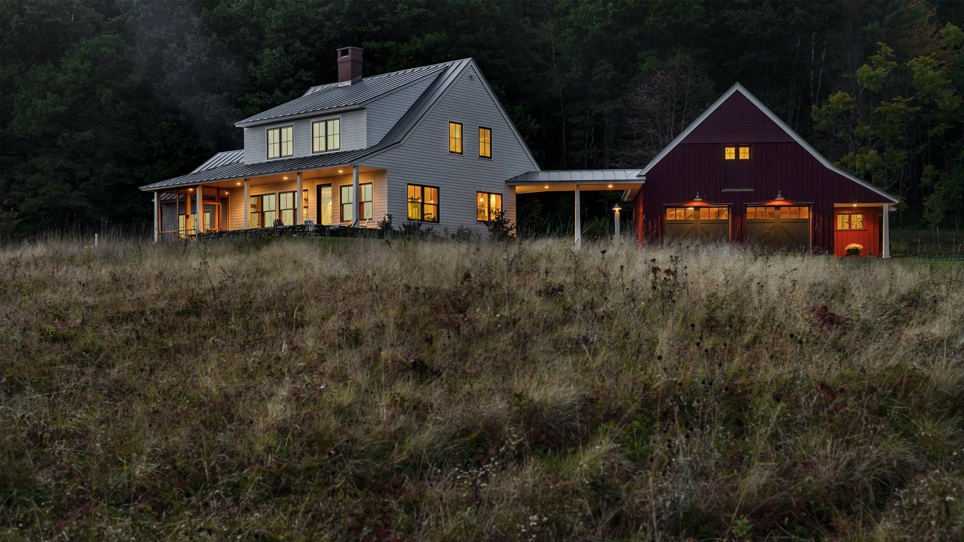 Dash landing farmhouse freeport maine whitten architects