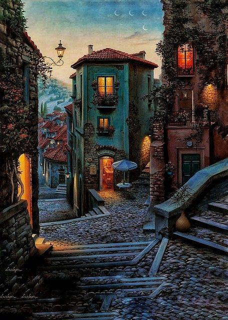 Campobasso - Italia - Sunset - vert