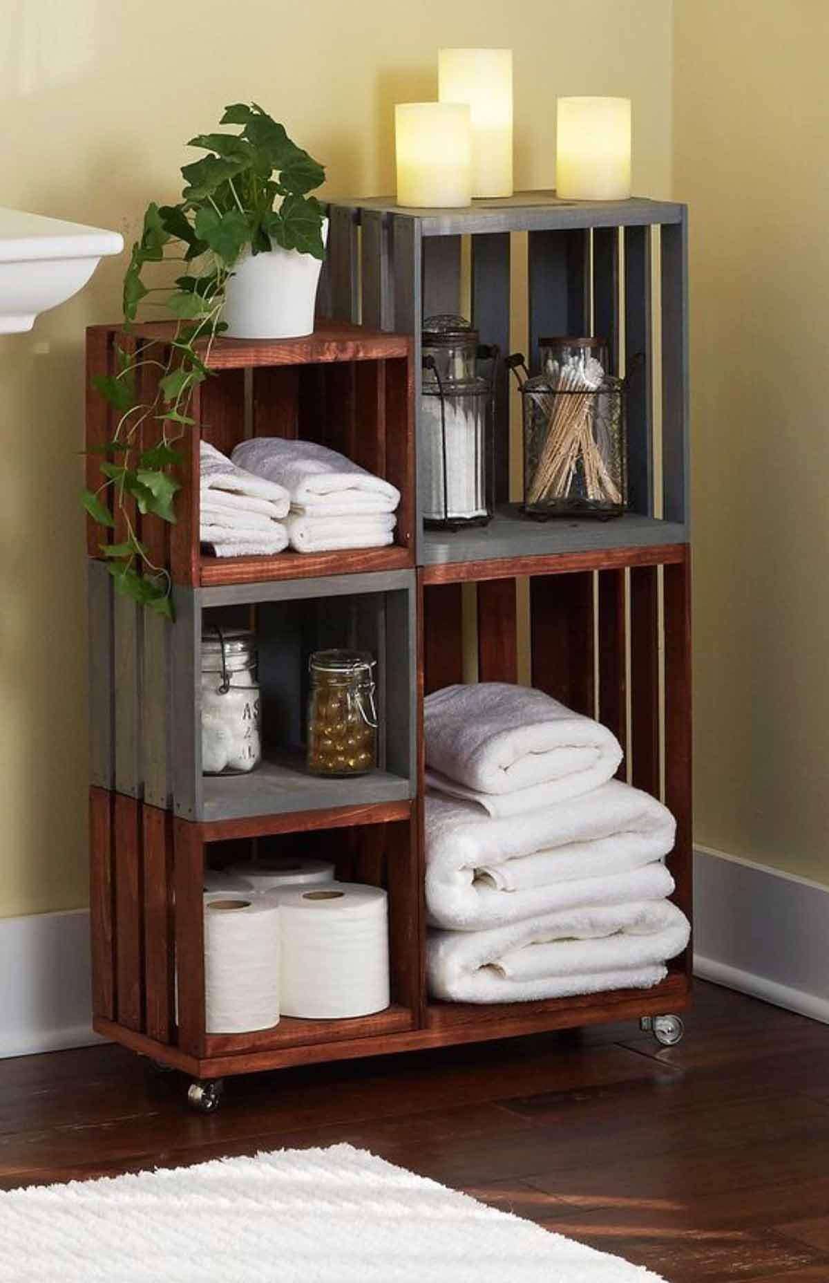 Alte Ikea Regale Stylishly Stackable Pallet Project Ideas Crafts Projects Diy